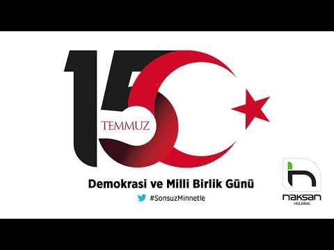 Naksan Holding: 15 Temmuz Demokrasi ve Milli Birlik Günü kutlu olsun