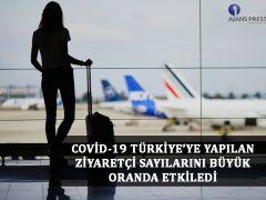 COVİD-19 Türkiye'ye Yapılan Ziyaretçi Sayılarını Büyük Oranda Etkiledi