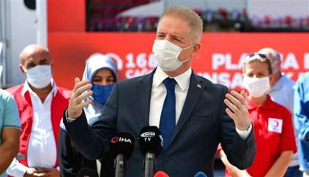 Vali Gül'den Plazma Bağışı Çağrısı