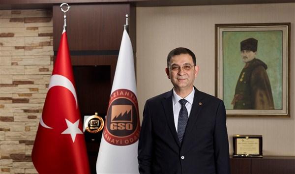 """GSO Başkanı Ünverdi,""""Cumhuriyet; özgürlük, demokrasi ve bağımsızlık demektir"""""""
