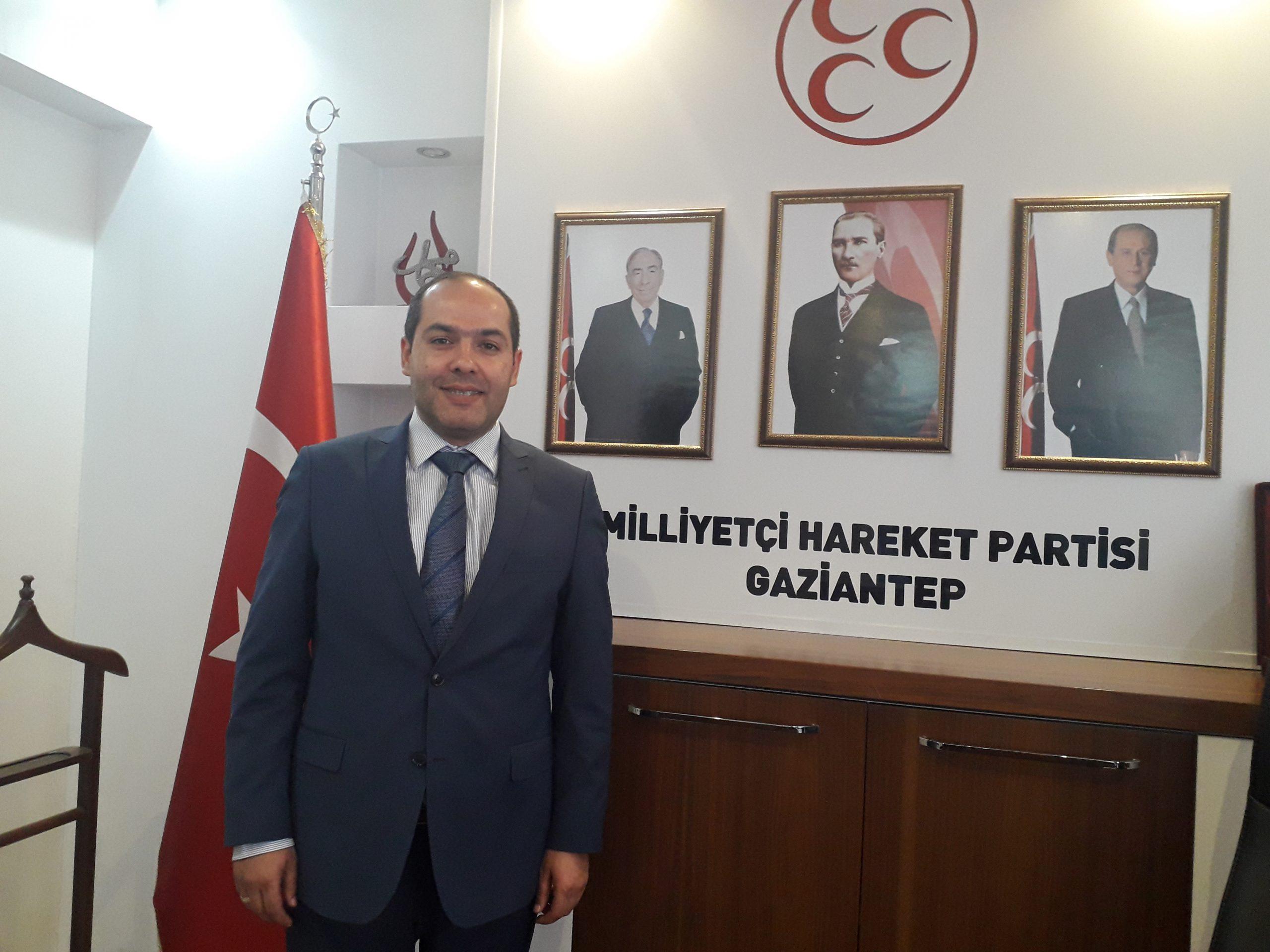 MHP İl Başkanı Çelik, kongrede adaylıktan  çekildiğini açıkladı
