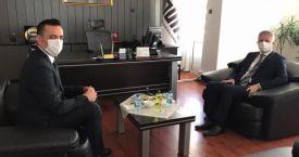 Gaziantep Valisi Davut Gül, TÜİK Gaziantep Bölge Müdürlüğünü ziyaret etti