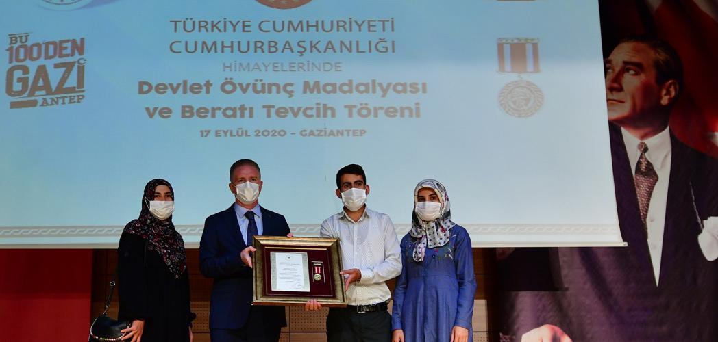 """Vali Gül: """"Milletin kararlılığıyla bu devlet ilelebet varlığını sürdürecektir"""""""