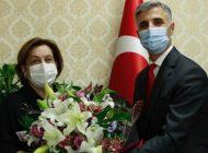 GAÜN Hastanesi'nde Alaşehirli görevi Zengin'den devraldı