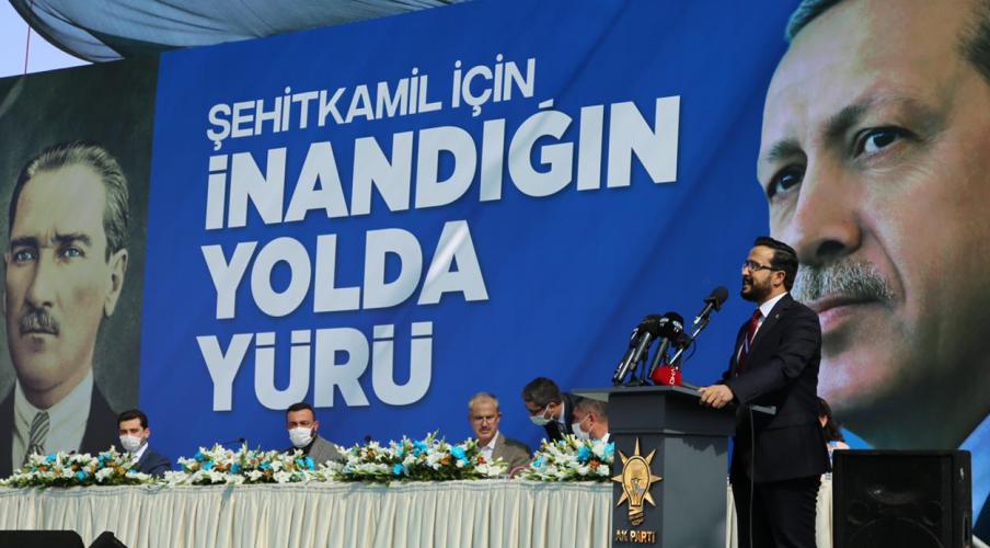 AKP Şehitkamil'de Mehmet Yılmaz güven tazeledi