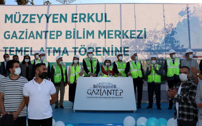 """""""Müzeyyen Erkul Bilim Merkezi"""" Temel Atma Töreni"""