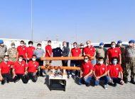 TEKNOFEST 2020 katılımcısı öğrenciler, savunma alanındaki projelerini Bab'da tanıttı