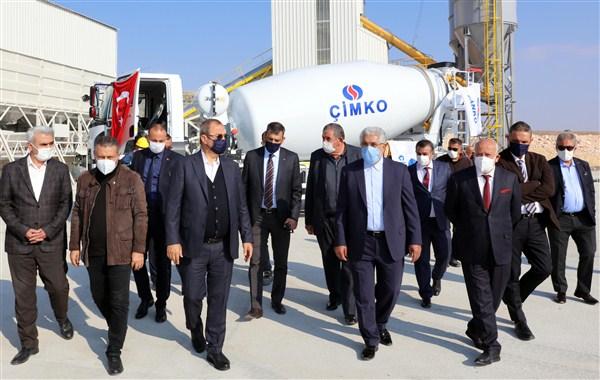ÇİMKO'nun 25'inci Hazır Beton Tesisi Üretime Başladı