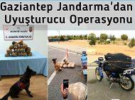 Gaziantep Jandarma'dan Uyuşturucu Operasyonu!