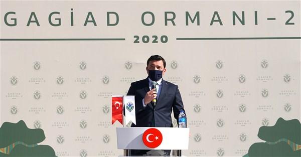 """GAGİAD Başkanı Koçer, """"Gaziantep'imizin unvanlarına """"Yeşil Şehir"""" unvanınıda ekleyeceğiz"""""""