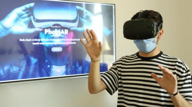 HKU'de Artırılmış Gerçeklik Teknolojisi Fobi Tedavisinde Kullanılacak
