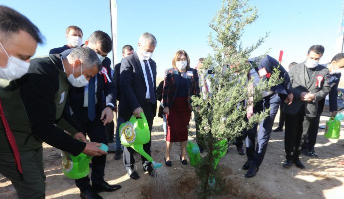 Büyükşehir, 30 Bin Öğretmen İçin 30 Bin Fidanı Toprakla Buluşturdu