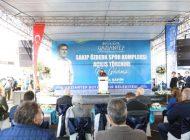 SAKIP ÖZBERK Spor Kompleksi'nin Açılışı Yapıldı