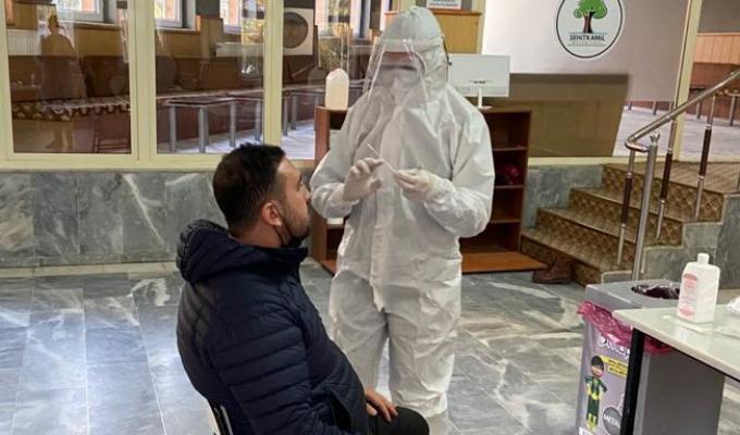 Gaziantep İl Sağlık Müdürlüğü, Numune Alım Noktaları Kurdu
