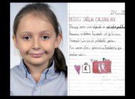 Küçük Beren Sağlık Çalışanlarına Mektupla Teşekkür Etti