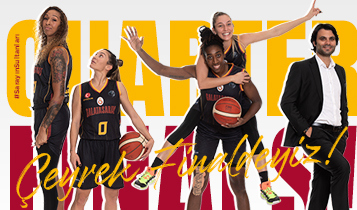 Galatasaray EuroLeague Kadınlar'da Çeyrek Finalde