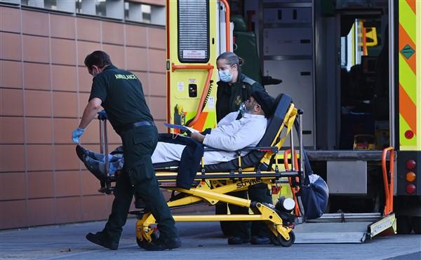 İngiltere'de Covid-19'a Bağlı Ölümler Artıyor