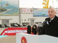 """Cumhurbaşkanı Erdoğan: """"Kendi savaş gemisini yapan 10 ülke içindeyiz"""""""