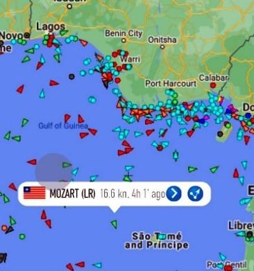 nijerya Türk Gemisi Korsan Saldırı