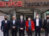 Iraklı Türkmen Bakan Maruf'tan Anka'ya Övgü