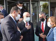 Vali Gül ve Başkan Şahin Hububat İhracatçılarını Kutladı
