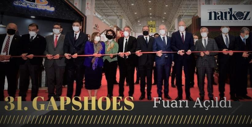 Uluslararası 31. GAPSHOES Fuarı Açıldı