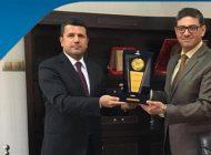 Liv Hospital Gaziantep Hastanesi'nden Irak Başkonsolosu Majeed'e Ziyaret