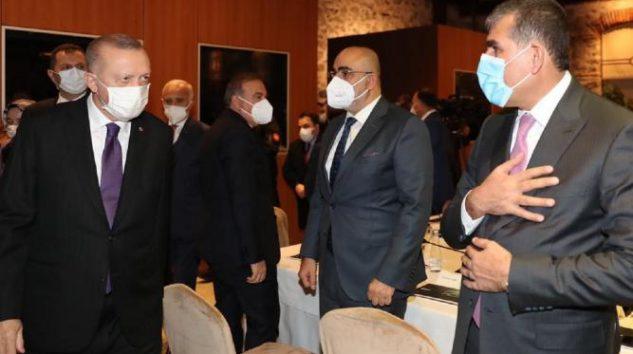 Altunkaya Cumhurbaşkanı Erdoğan'la bir araya geldi