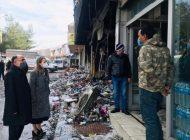 Derya Bakbak'tan, Gıda Toptancıları Sitesi'ne Geçmiş Olsun Ziyareti