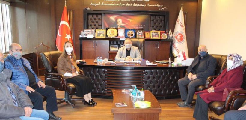 """Gaziantep Milletvekili Bakbak; """"Esnafımızla Gurur Duyuyoruz"""""""