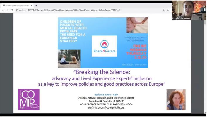 Genç Hasta Bakıcılar Farkındalığı için Uluslararası Webinar Eğitimi Düzenlendi