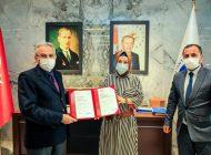 Gaziantep Üniversitesi'ne Önemli Belge