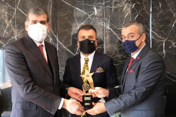 Kadooğlu Holding'e İhracatın Yıldızları Ödülü