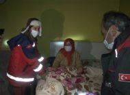 UMKE Ekipleri  Mahsur Kalan Hastaya Ulaştı