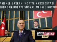 """CHP Genel Başkanı, HDP'ye Karşı Siyasi Koronadan Dolayı Sosyal Mesafe Koymuş"""