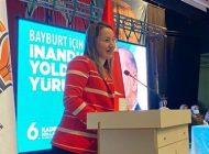 Milletvekili Derya Bakbak Bayburt'tan Seslendi