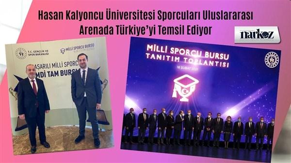 Hasan Kalyoncu Üniversitesi Sporcuları Uluslararası Arenada Türkiye'yi Temsil Ediyor