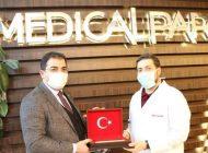 Başkan Mehmet Canpolat, Medical Park Gaziantep Hastanesi'ni Ziyaret Etti