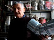 Gaziantep'in Son Teneke Ustası Teknolojiye Direniyor