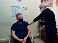 Vali Gül, Kovid-19 Aşısı Yaptırdı