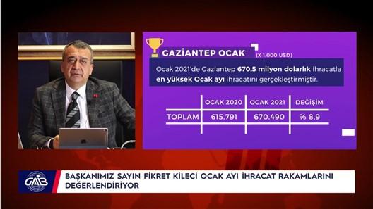 Güneydoğu Anadolu Bölgesi Pandemiye Rağmen İhracat Rekorları Kırıyor