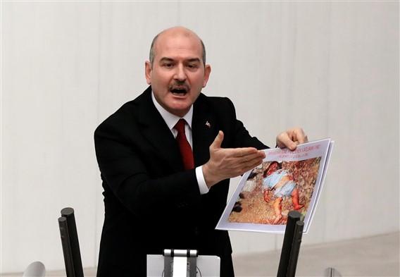 """Soylu, """"PKK ve PYD terör örgütü ailelerimize karşı zafer kazanamayacak"""