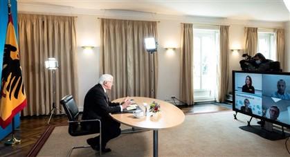"""Almanya Cumhurbaşkanı Steinmeier: """"Aşı seçmek oldukça lüks bir sorun"""""""
