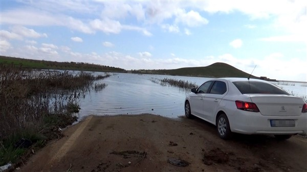 Yarım Asırlık Yol Baraj Altında Kaldı