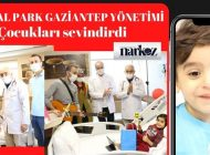 Medical Park Gaziantep Yönetiminden Çocuklara Sürpriz!