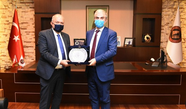 Danimarka'nın Ankara Büyükelçisi Danny Annan'dan GSO'Ya Ziyaret