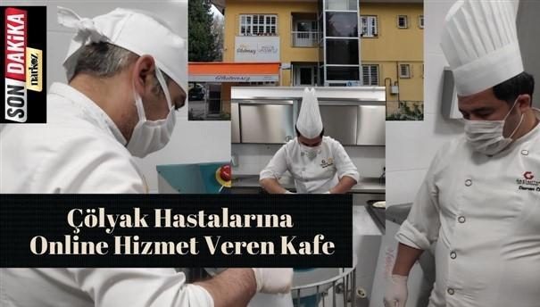 Çölyak Hastalarına Online Hizmet Veren Kafe