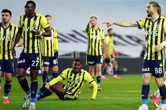 Fenerbahçe'den Evinde 5'inci Mağlubiyet