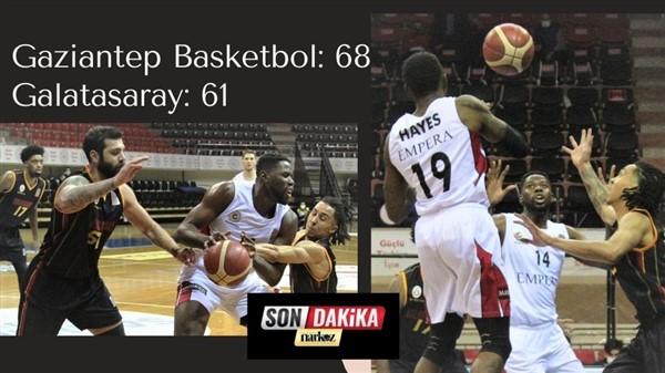 Gaziantep Basketbol: 68 – Galatasaray: 61