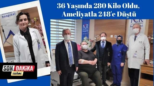 36 Yaşında 280 Kilo Oldu, Ameliyatla 248'e Düştü